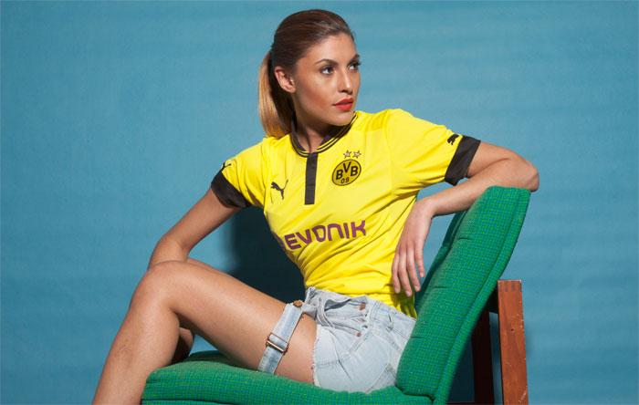 Dortmund home jersey 2012-13