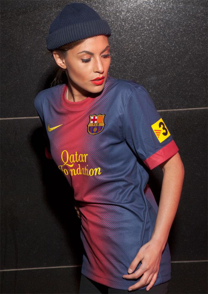 FC Barcelona TV3 sleeve patch