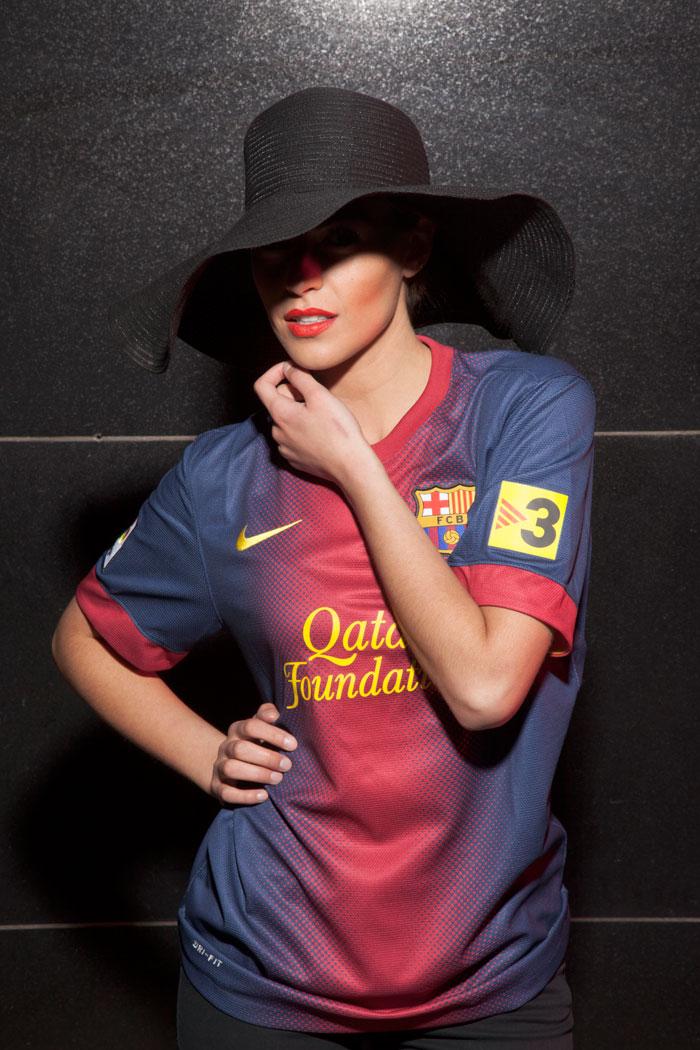FC Barcelona girl outside trim