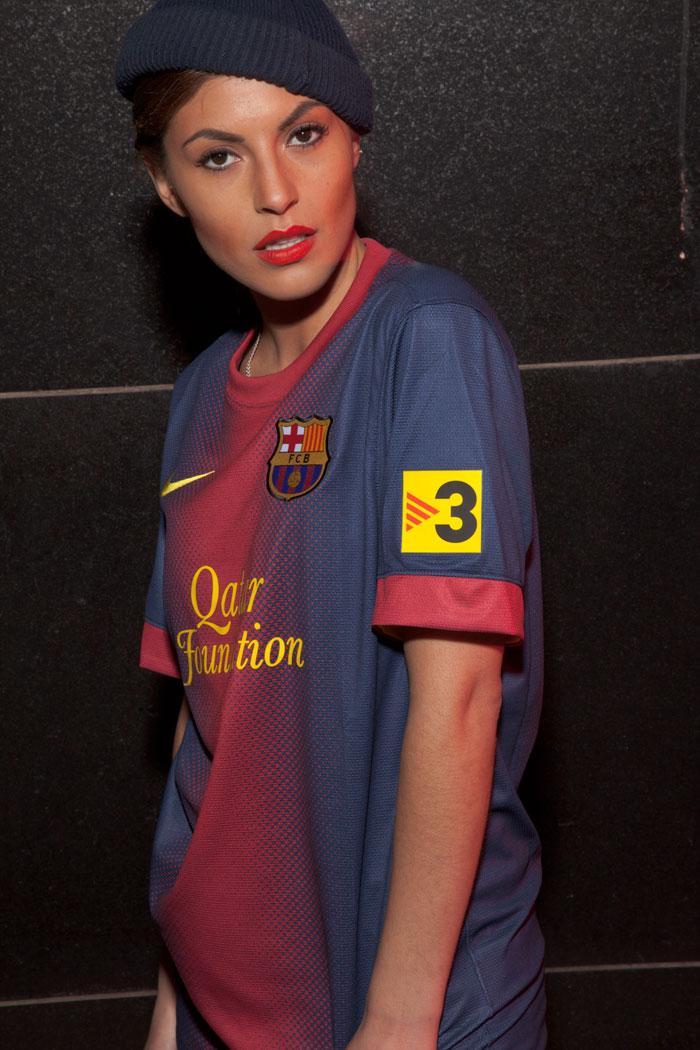 FC Barcelona TV3 patch