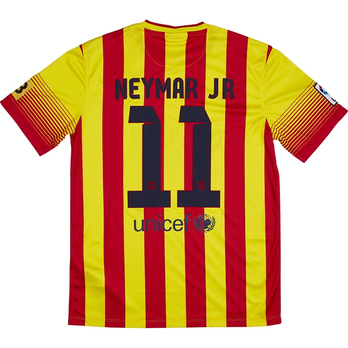 FC Barcelona away jersey 13/14 Neymar 11