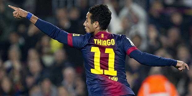 Thiago 11 FC Barcelona 12/13