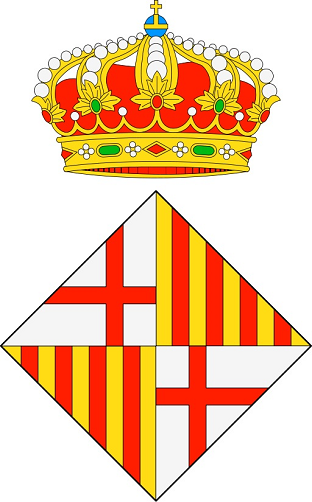 Coat of Arms the city of Barcelona
