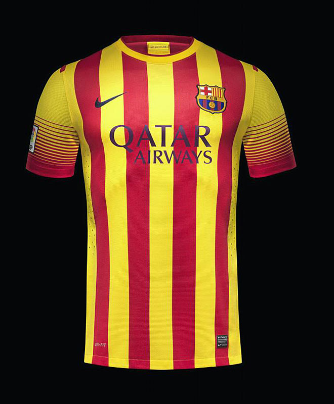 FC Barcelona away jersey 13/14 authentic