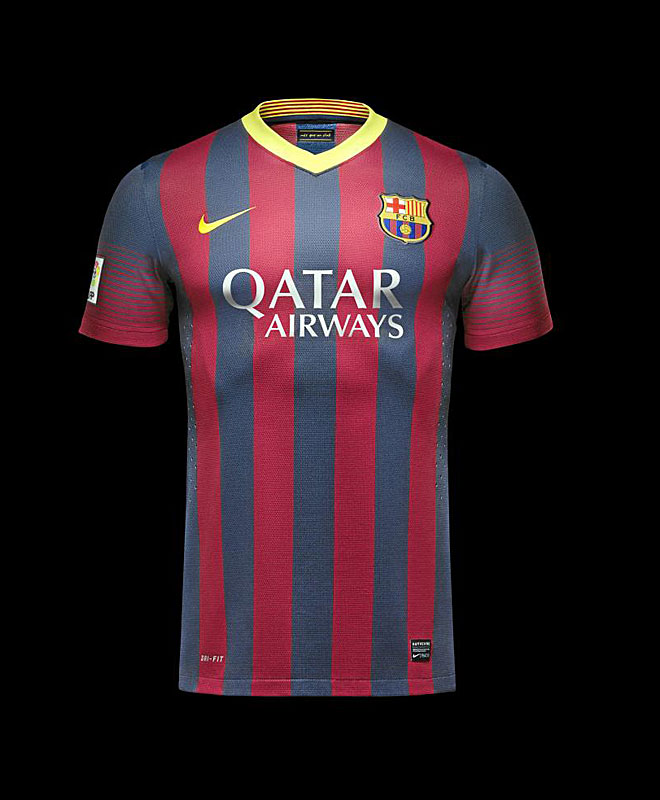 FC Barcelona home jersey 13/14 authentic