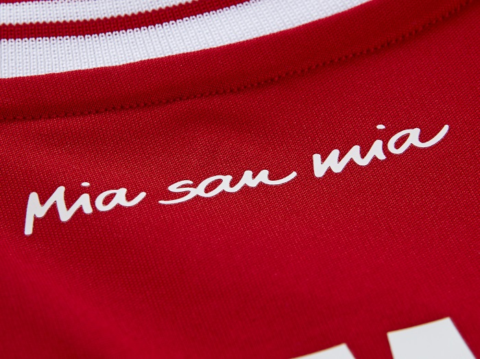 FC Bayern Mia San Mia slogan of the club
