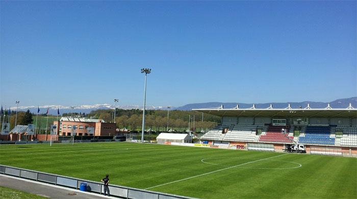 UEFA stadium Nyon Switzerland