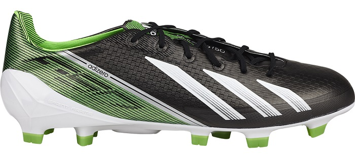 adidas F50 soccer cleats green black