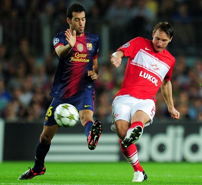 Sergio Busquets 2012 FC Barcelona