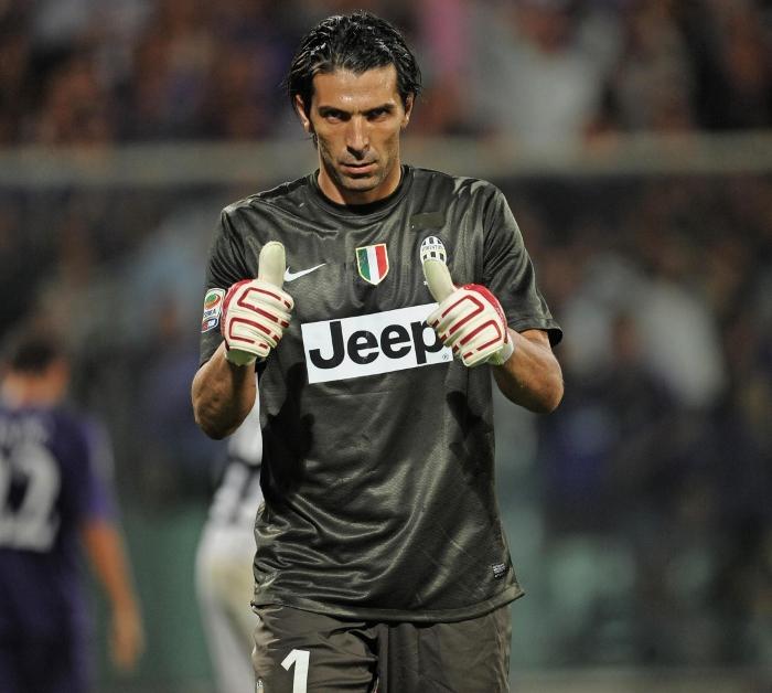 Buffon Juventus 2012