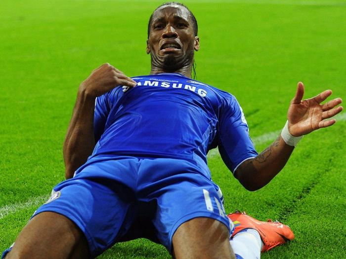 Chelsea 2012 Didier Drogba
