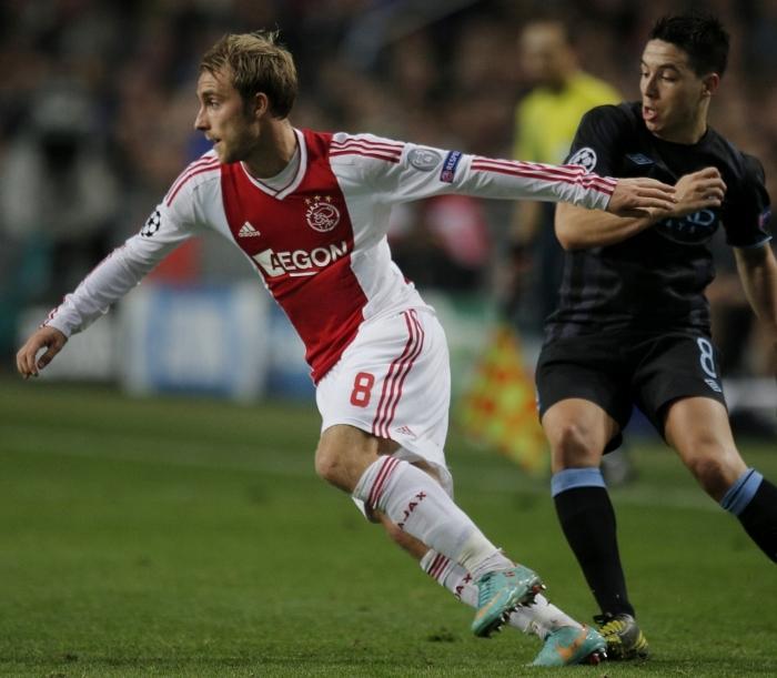 Eriksen Ajax 2012