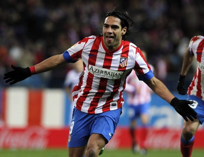 Falcao Atletico Madrid 2012