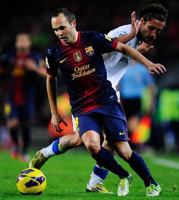 Andres Iniesta FC Barcelona 2012