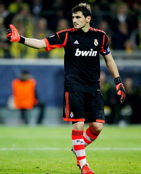 Iker Casillas Real Madrid 2012