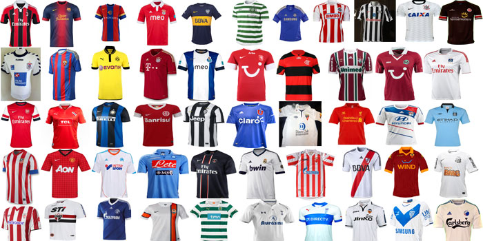 Jersey of the year 2012 - quick overview