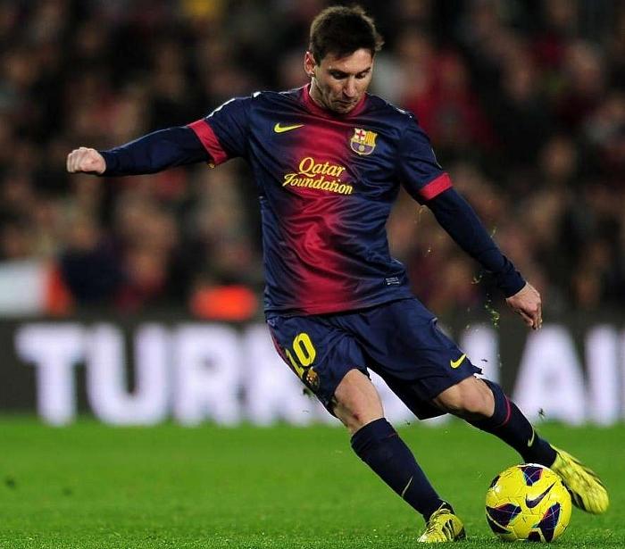 Lionel Messi FC Barcelona 2012