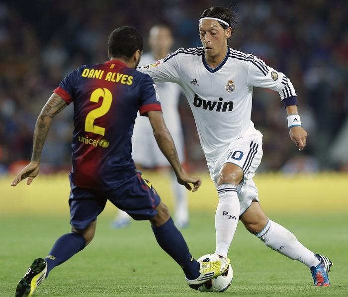 Mesut Özil Real Madrid 2012