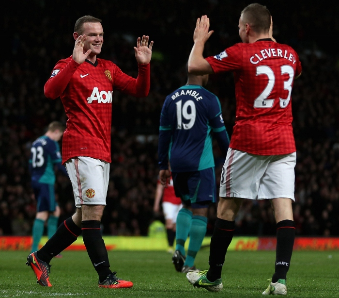 Rooney Manchester United 2012