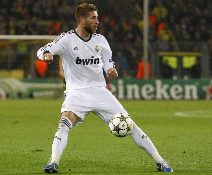 Sergio Ramos Real Madrid 2012