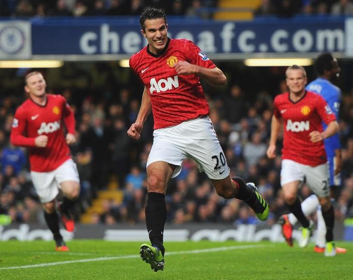 Man United van Persie 2012