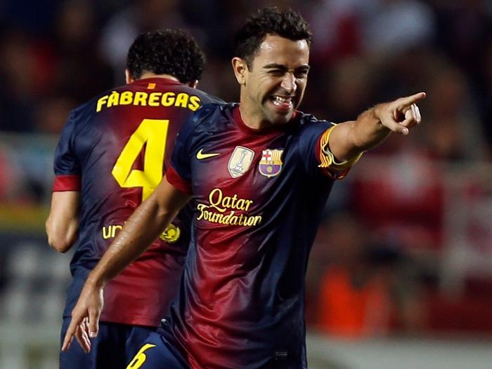 Xavi FC Barcelona 2012