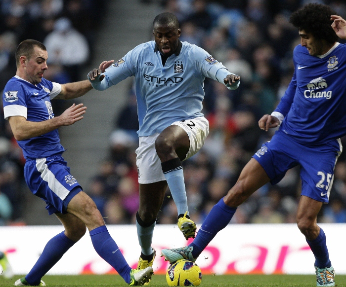 Yaya Toure 2012 Manchester City