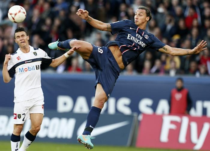 Zlatan Paris SG 2012