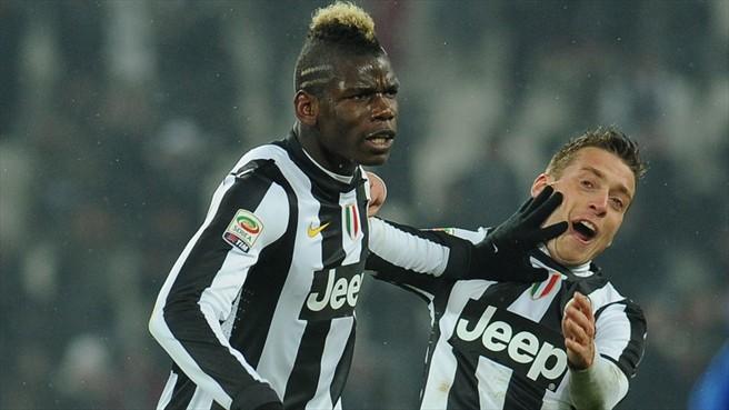 Juventus rising star Pogba