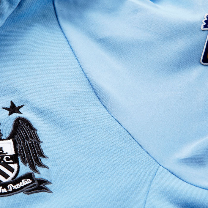 Man City jersey fabric