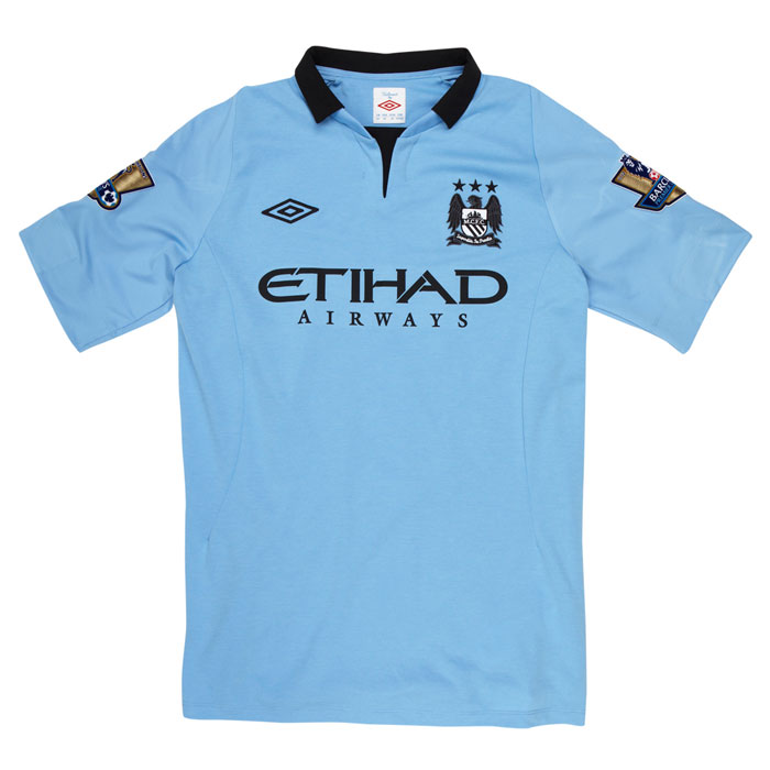 Man City home jersey 12-13 full