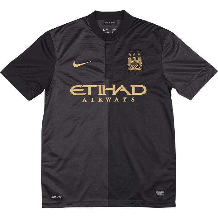 Man City away jersey 2013/14