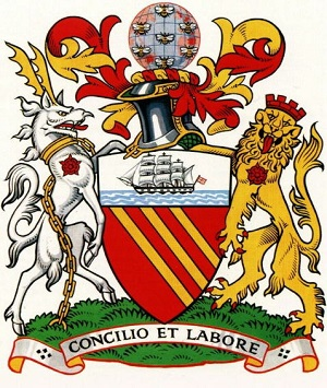 City of Manchester coat of arms