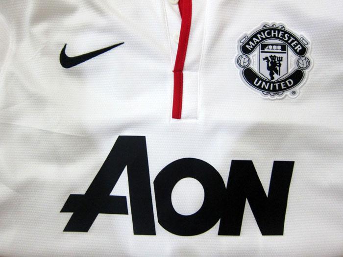 Man Utd away jersey chest
