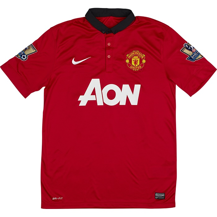 Manchester United home jersey 2013/14
