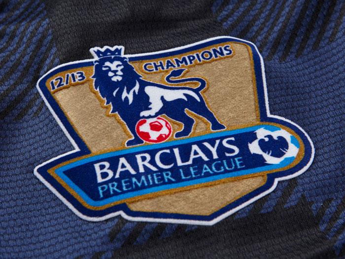 Champs badge EPL gold Man Utd away