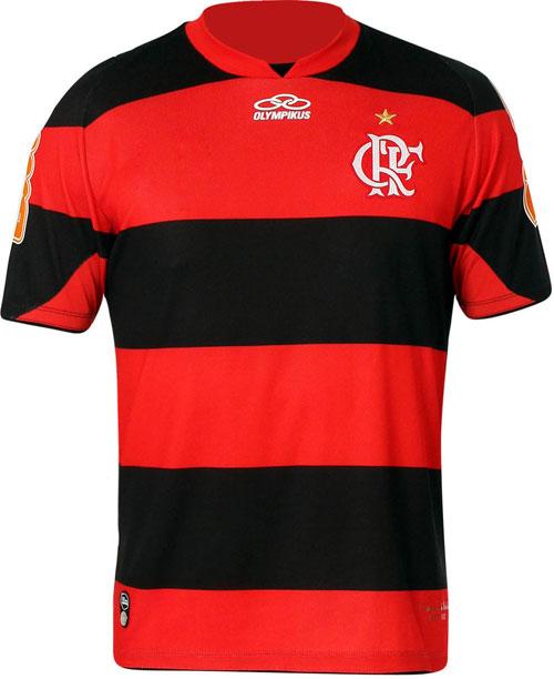 Flamengo home jersey 2012