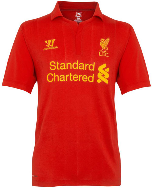Liverpool home jersey 12-13