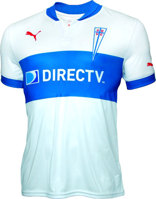 Uni Catolica home jersey 2012