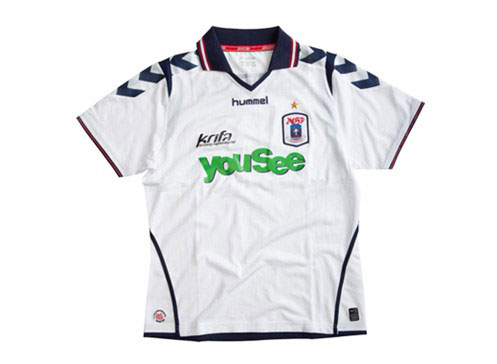 AGF home jersey 2012