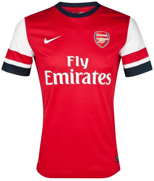 Arsenal hjemme trøje 12-13