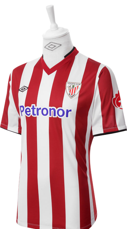 Athletic Bilbao home jersey 12
