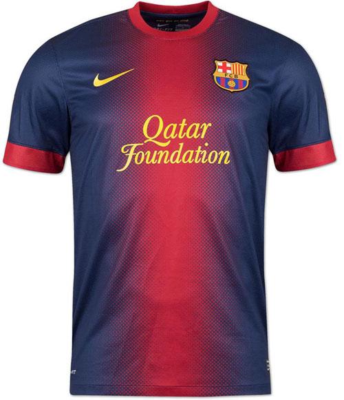 FC Barcelona home jersey 12-13