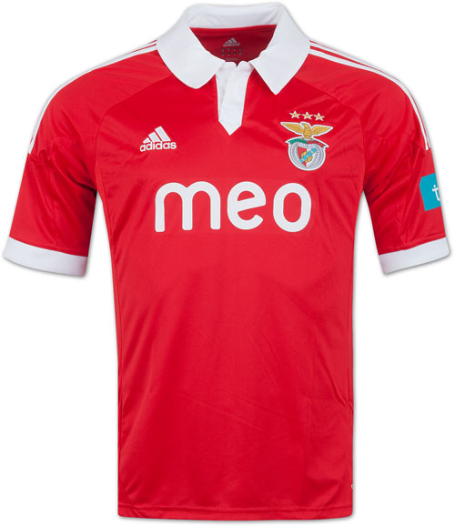 Benfica home jersey 2012-13