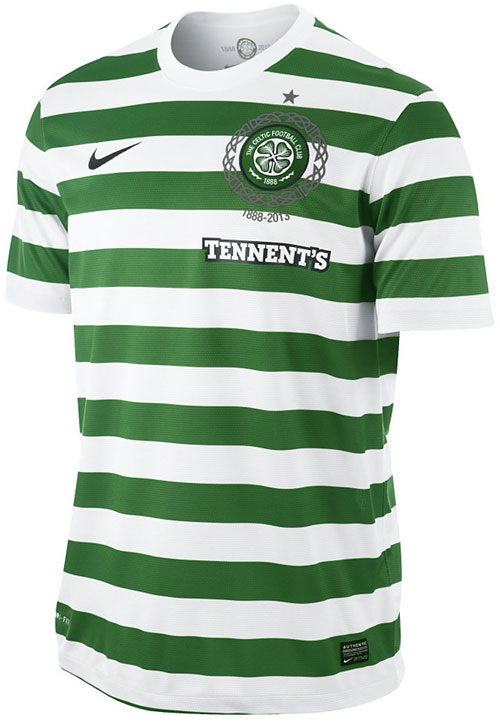 Celtic home jersey 12-13