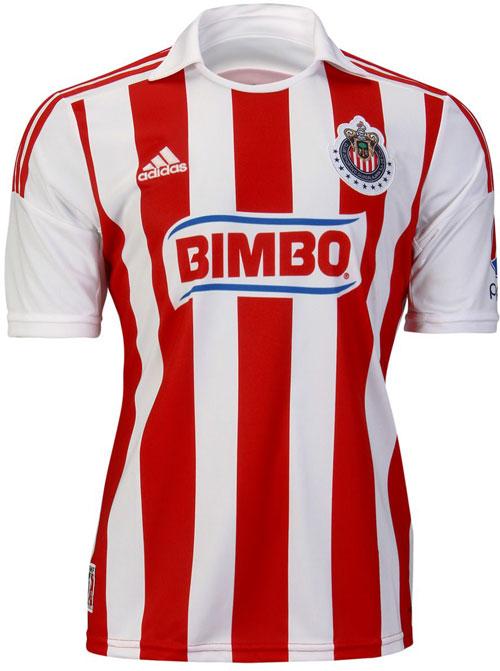 Chivas home jersey 2012