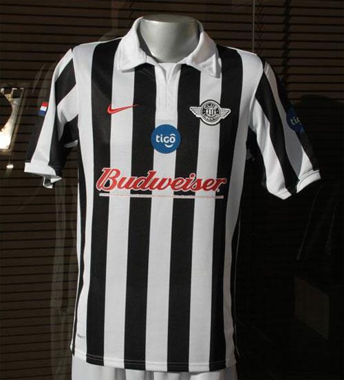 Club Libertad home jersey 2012