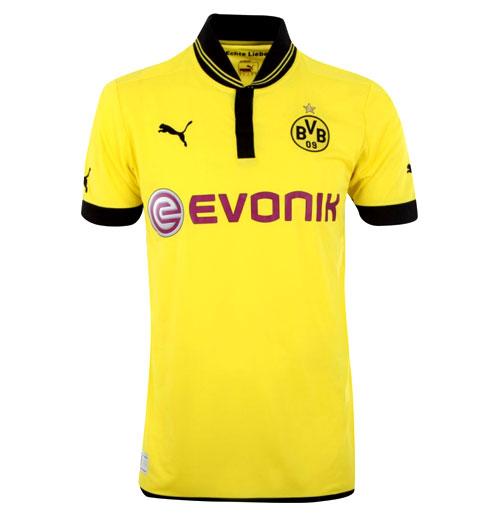 Dortmund home jersey 2012