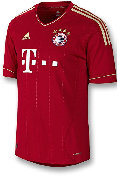 FC Bayern home jersey 2011-13