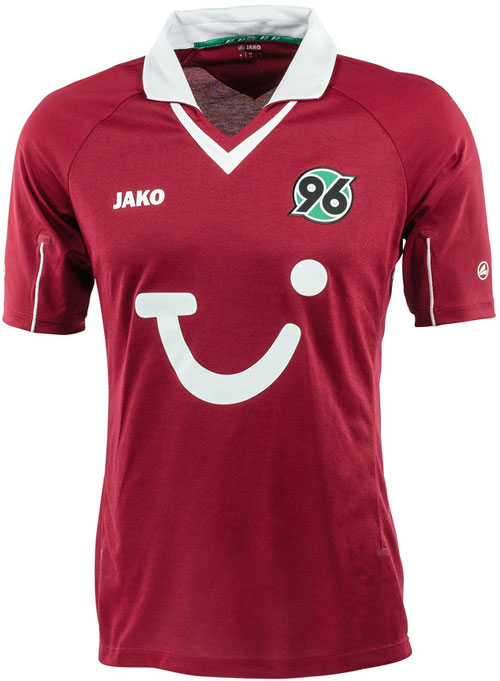 Hannover 96 home jersey
